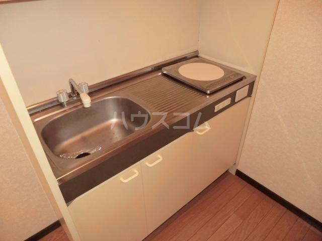 イワサレジデンス B棟 105号室のキッチン