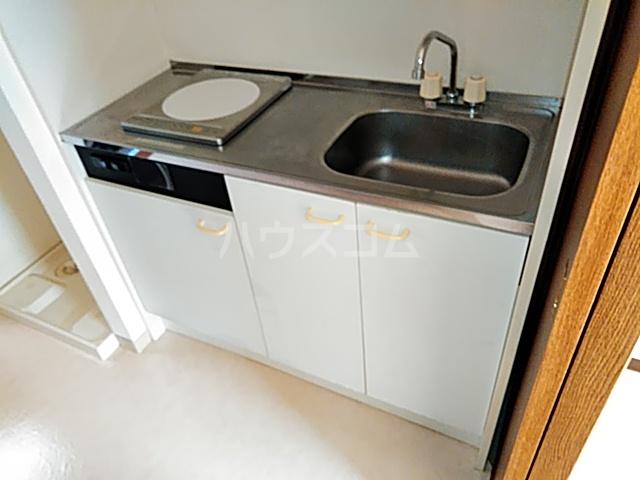 サラミーア 3-D号室のキッチン