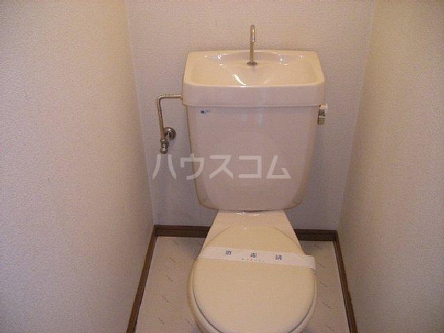 ビューティフルハイツA 203号室のトイレ