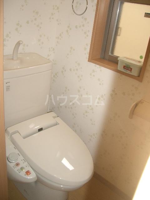 ビラ・アリックス赤塚 201号室のトイレ