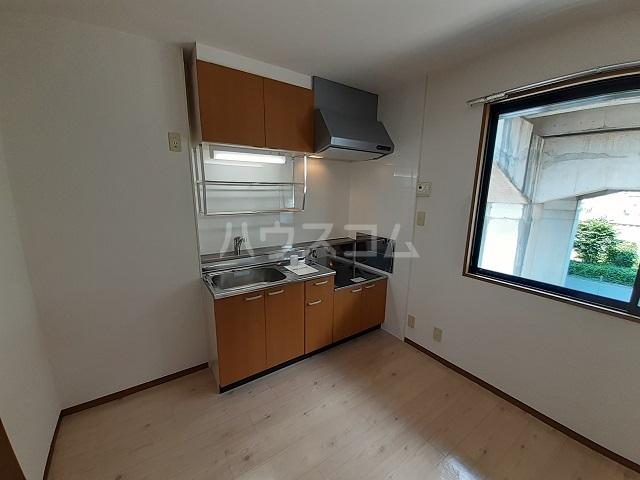 ルミネハイツ 202号室のキッチン