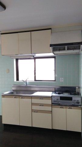 ソレイユ市川 503号室のキッチン