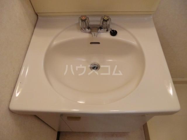 ネオ明治館 206号室の洗面所