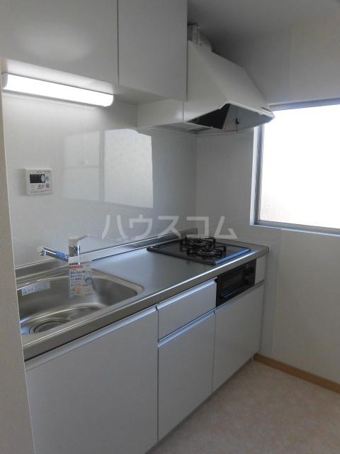 カーサ・ミモザ 1号室のキッチン