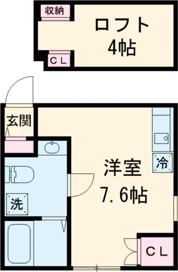 プリマ武蔵野壱番館・202号室の間取り