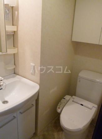スカイコート池袋西壱番館 701号室のトイレ
