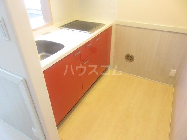 デラッセ 106号室のキッチン