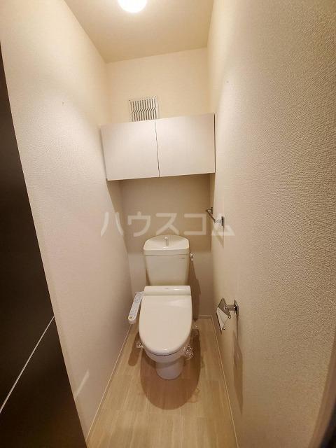 アリュール林 303号室のトイレ