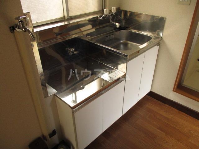 山内ビル 405号室のキッチン