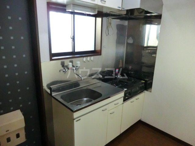 poko'sハウス 202号室のキッチン