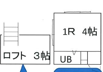 山岸マンションA・103号室の間取り