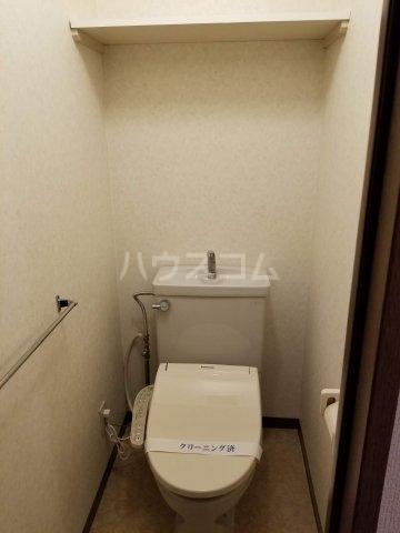 アベニール佐倉 305号室のトイレ
