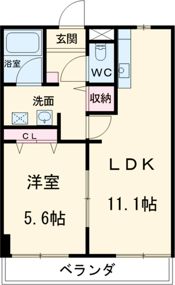 第3さくらマンション中央・306号室の間取り