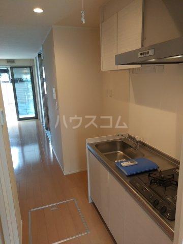 グラース 101号室のキッチン