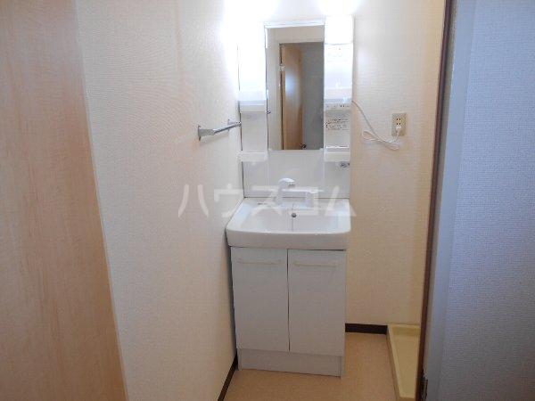 第2メゾンたけ宗 403号室の洗面所