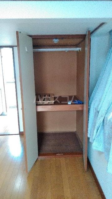 ヴィラ・クレール 201号室の収納