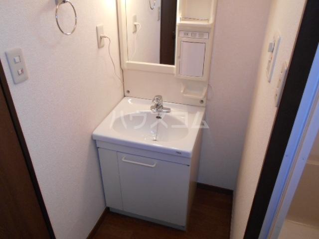 サンノーブル B110号室の洗面所