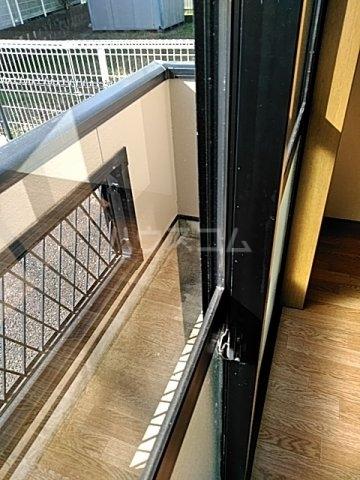 モリヤハイツ 102号室のバルコニー