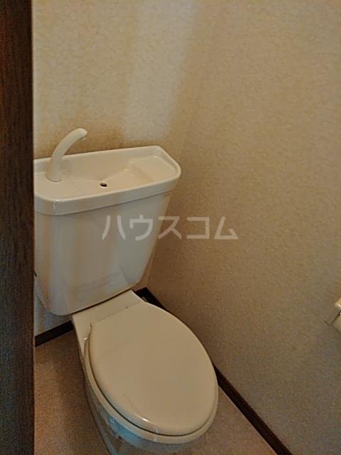 モリヤハイツ 202号室のトイレ