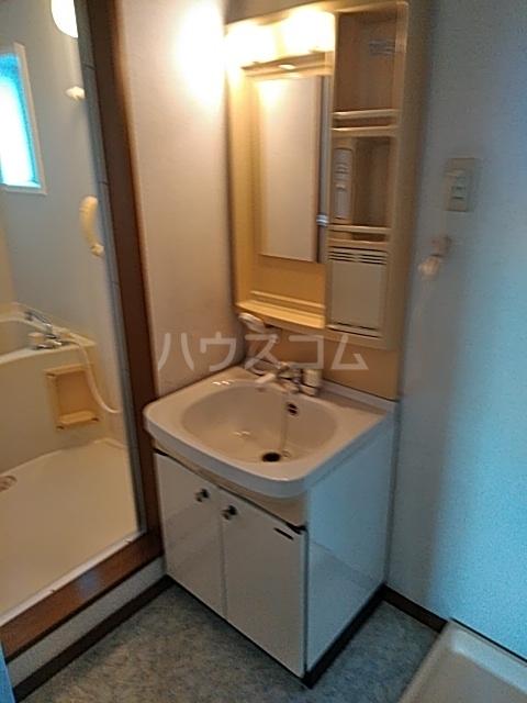 モリヤハイツ 202号室の洗面所