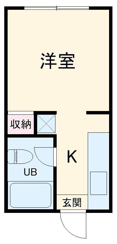 SK第1ビル・304号室の間取り