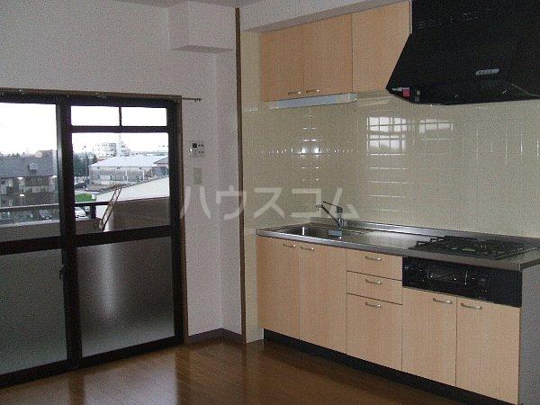ステージM 203号室のキッチン