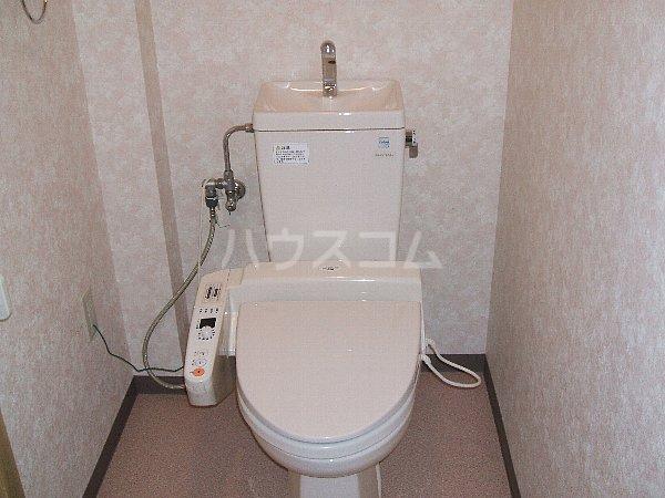 ステージM 203号室のトイレ