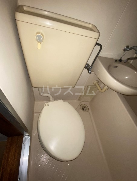 アリックスビル 403号室のトイレ