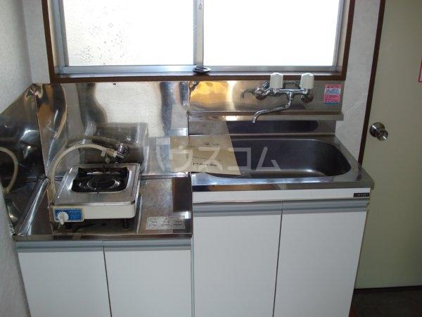 ハイツONO 205号室のキッチン