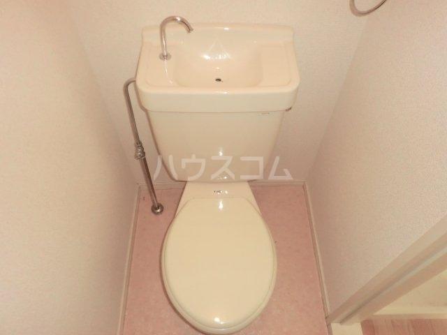 EAST COURT SHIPPO 210号室のトイレ
