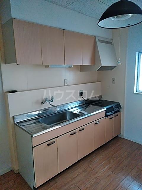 ハイムパンプキンPARTⅡA棟 205号室のキッチン