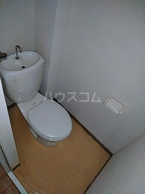 ハイムパンプキンPARTⅡA棟 205号室のトイレ