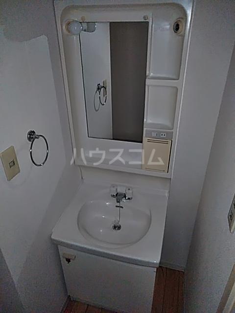 ハイムパンプキンPARTⅡA棟 205号室の洗面所