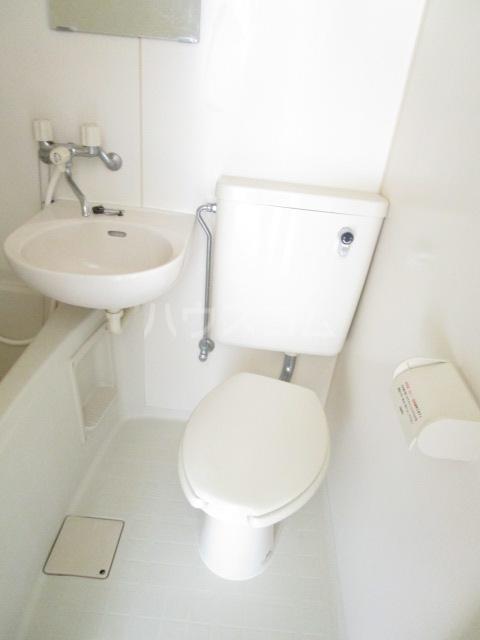 ランド元町 101号室のトイレ