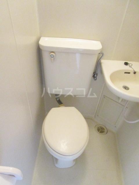 ウインベルソロ国分寺1 604号室のトイレ