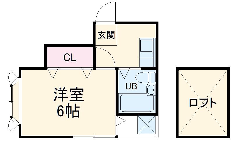 ソレイユコート横浜Ⅱ・201号室の間取り