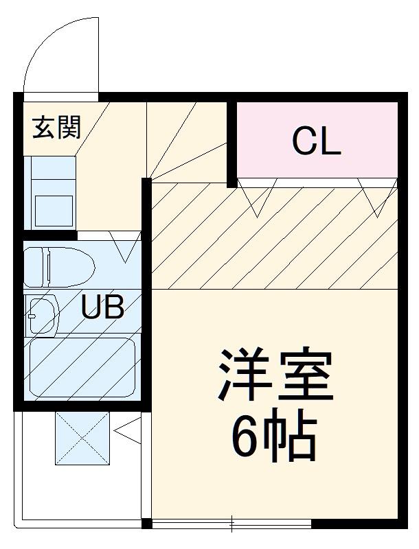 ソレイユコート横浜Ⅱ・203号室の間取り