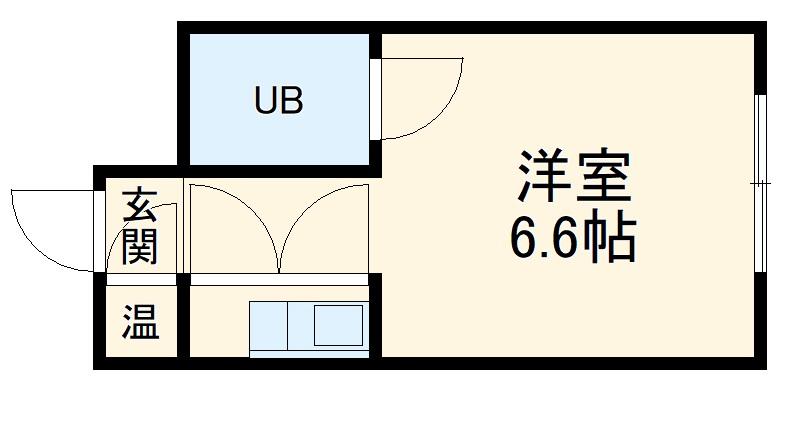 ユニーブル新栄・406号室の間取り