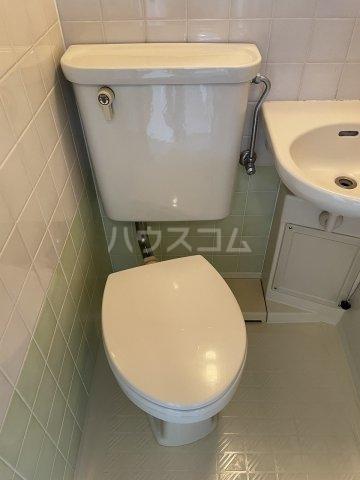 グランデール泉 605号室の洗面所