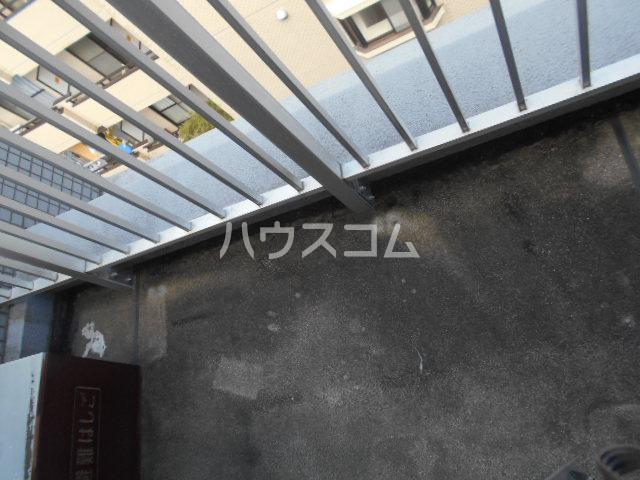アステールⅡ 2C号室のバルコニー