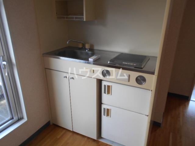 アステールⅡ 2C号室のキッチン