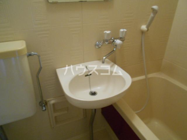 アステールⅡ 2C号室の洗面所