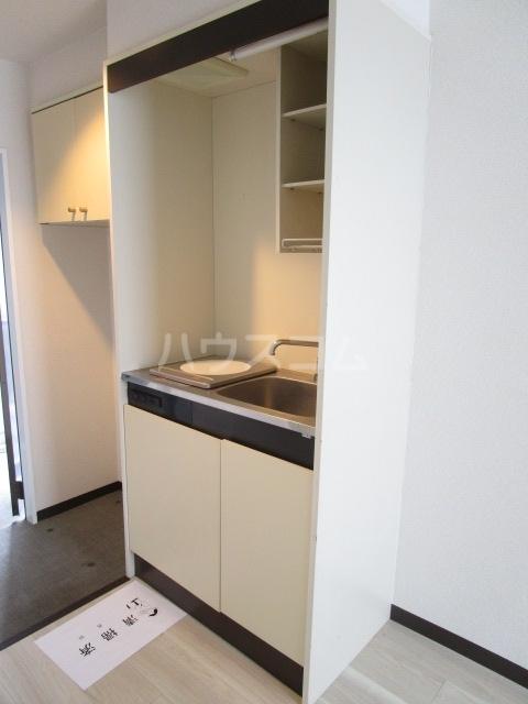 ラサ国分寺B館 205号室のキッチン