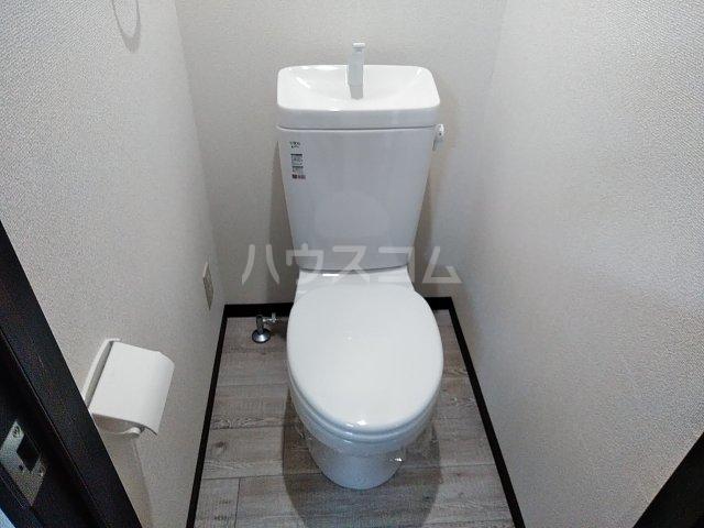ウエストスクエア 203号室のトイレ