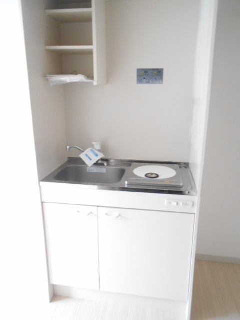 マンションカンナ 202号室のキッチン