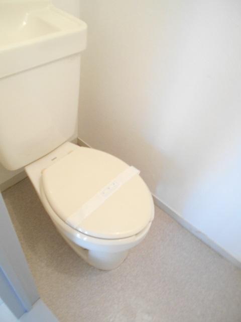 マンションカンナ 202号室のトイレ