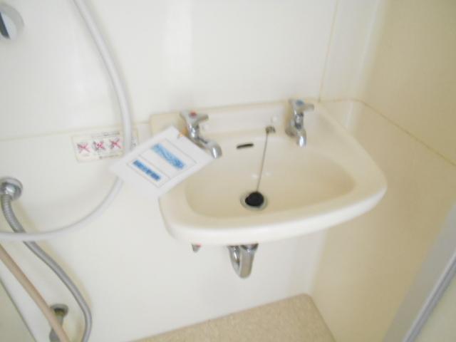 マンションカンナ 202号室の洗面所