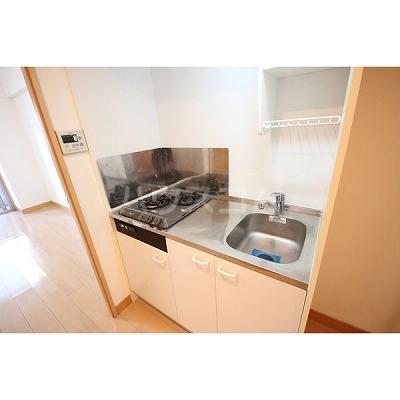 ライブコート泉 706号室のキッチン