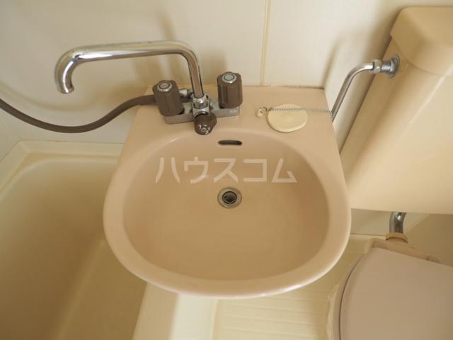 プレズ志賀公園 4B号室の洗面所