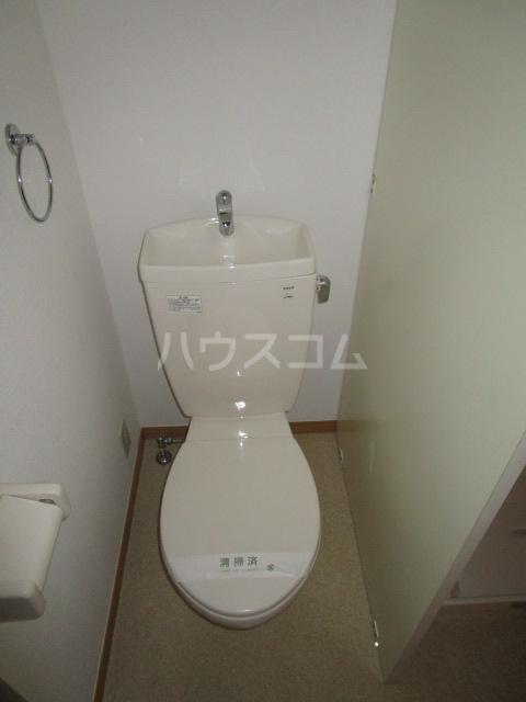アムール MOTOMACHI 201号室のトイレ